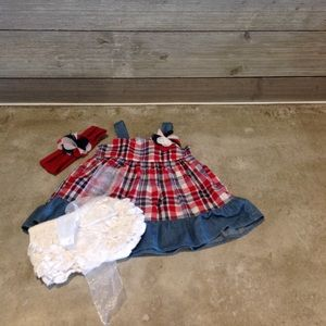 Girls 3pc outfit